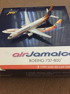 Gemini Jets Boeing 737-800 Air Jamaica Scale 1:400 Very Very Rare Scale 1:400