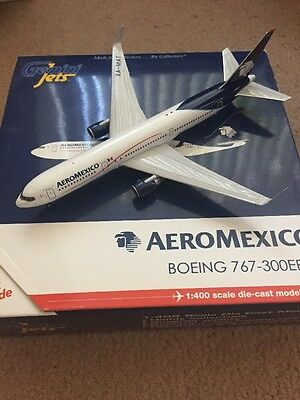 Gemini Jets AeroMexico Boeing 767-300ER Scale 1:400 Very Rare