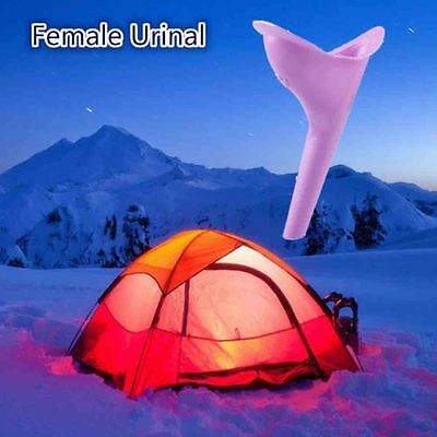 Funnel Travel Toilet Device Portable Silicone Female Urinal
