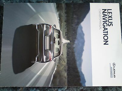 Lexus Ct Handbook Guide Navigation Owners Manual