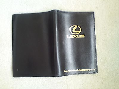 Lexus Passport Cover in real leather.