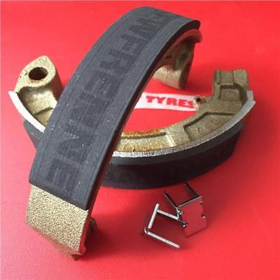 Vespa Pk 50 S Newfren Brake Shoes - New Race Compound - Rear ( 12254 )