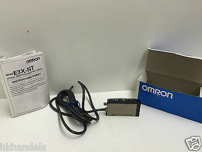 Omron E3X-NT41 Photo Electric Switch 2m new with invoice und tax
