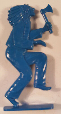 1949 Vintage Cracker Jack Prize Toy Indian Chief Dancing with Tomahawk Stand Up
