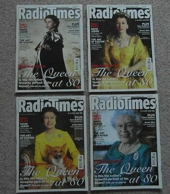 Collectable Radio Times. The Queen at 80.  8-14 April 2006