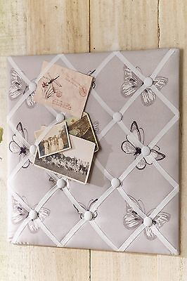 Butterfly Memory, Message,Memo Board Padding with Ribbon Detail (793779)