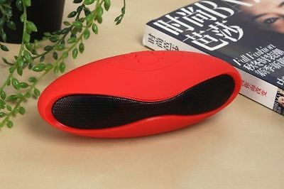 Bluetooth Wireless Portable Rechargeable Speaker For All Type Smartphones {RED}