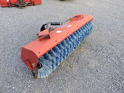 """Case BRX172 72"""" Fast Hitch Sweepr Broom For Case IH New Holland Compact Tractor"""