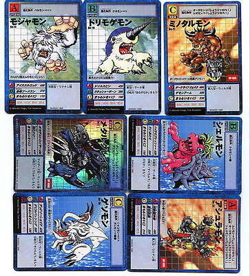 Japan Digimon Trading Japanese 35 Card Game 5 Booster Starter Packs