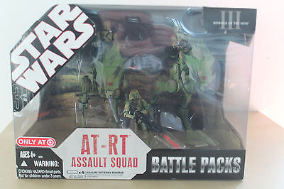 AT-RT Assault Squad battle pack STAR WARS THE 30TH ANNIVERSARY COLLECTION 2007