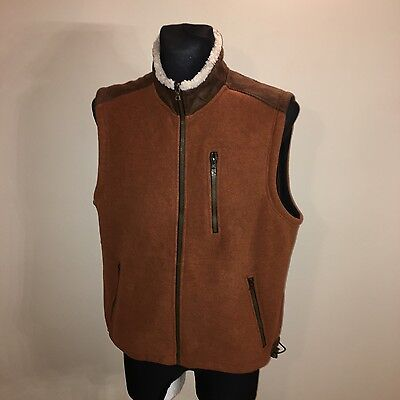 Mens ORVIS Hunting Fishing Warm VEST Gilet Bodywarmer Jacket Size L Perfect!