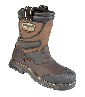 Dr Martens Turbine  Safety Rigger Boots Waterproof Composite Toe Cap Metal Free