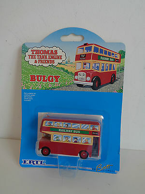 "ERTL 1993 THOMAS THE TANK ENGINE ""BULGY THE BUS"" No. 27 - MINT ON CARD"