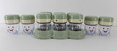 Magic Baby Bullet Food Processor Replacement Part 10 Date-Dial Storage Cups Tray