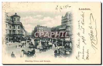 Angleterre - England - London - Charing Cross an Strand - CPA