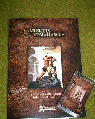 MUSKETS & TOMAHAWKS rules – Skirmishes in North America