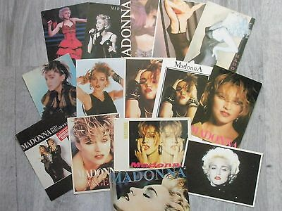 lot15 cartes postales Madonna POSTCARDS cartolina