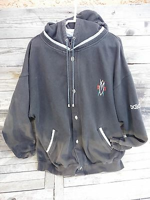 Adidas Mutombo 55/vintage Veste A Capuche Collector Taille Xl Ou Xxl