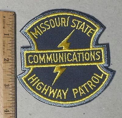 Vintage Missouri State Highway Patrol Communications Sew on Cloth Patch TY 2