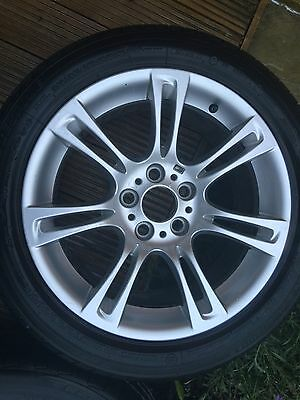 BMW GENUINE 5x120 WHEELS WITH TYRES