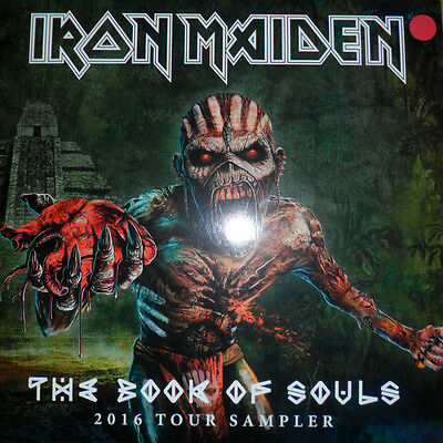 Iron Maiden ‎– The Book Of Souls 2016 Tour Sampler LP