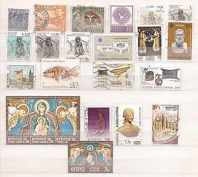 Chipre ( Cyprus ) - Lote De  Sellos ( Lot Of Stamps )