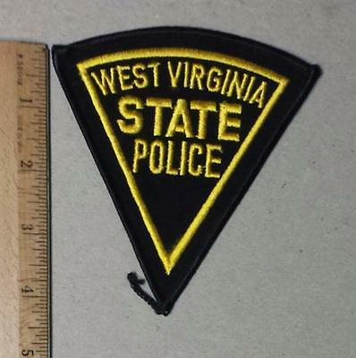 Vintage West Virginia State Police Iron/Sew on Patch & Insignia Lapel Pin Set