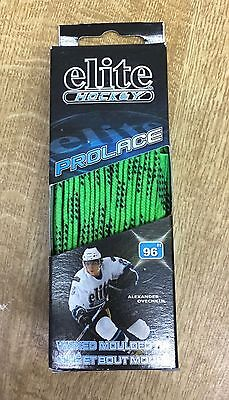 Wax 96 inch Ice Hockey Skate Laces Green