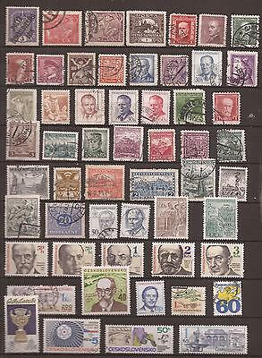 Czechoslovakia -  Lote De  Sellos  ( Lot Of Stamps ) - 2 Images