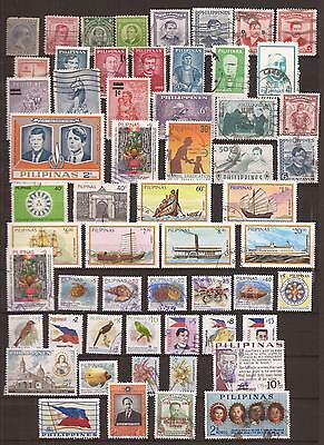 Philippines -  Lote De  Sellos  ( Lot Of Stamps )