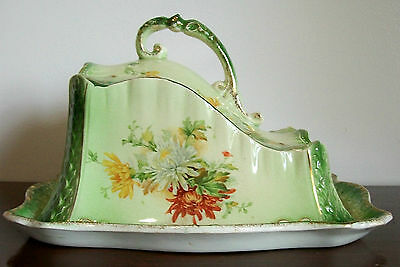 Antique Grimwades Brothers Covered Cheese Dish