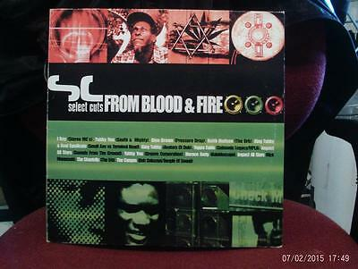 Select Cuts From Blood & Fire Double Vinyl LP King Tubby I Roy Congos