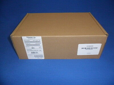 Polycom VVX410 Gig IP Phone - 2200-46162-025 - New