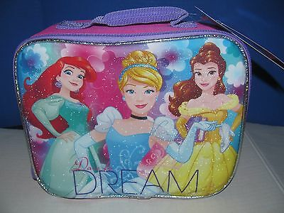Disney Princess Dare To Dream Soft Insulated Lunchbox Lunchbag  NWT