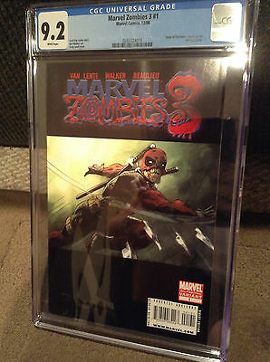 Marvel Zombies 3 #1 (2nd Printing Variant) CGC 9.2 - DEADPOOL ARMY OF DARKNESS