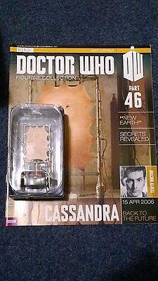 Eaglemoss doctor who figurine collection - Issue 46: CASSANDRA