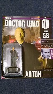 Eaglemoss doctor who figurine collection - Issue 58: AUTON