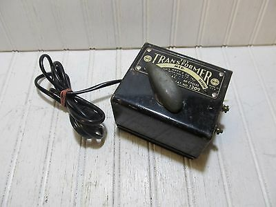 Marx 50 Watt No. 1209 AC Toy Train Transformer - Tested and Working!