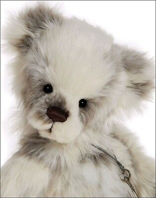 """MARSHMALLOW Charlie Bears 2016 Collection - 17.5"""" Jointed Plush CB161616 - NEW!"""