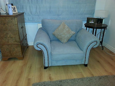 4 seater sofa and  large chair