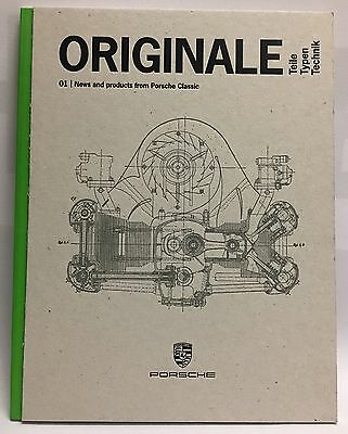 Porsche Classic Original News And Products Classic Book Catalog