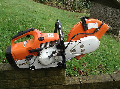 Stihl saw ts400 petrol disc cutter EXCELLENT SAW!! serviced ready to go to work!