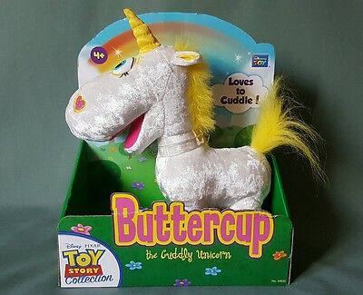 Toy Story Collection Buttercup The Cuddly Unicorn Thinkway New Extremely Rare!