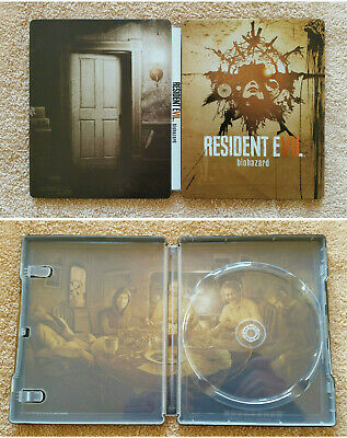 Steelbook Resident Evil Biohazard PS4 Xbox One / G2 / rare / neuf