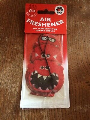 Comic Relief Red Nose Day Air Freshener