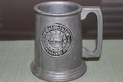 Vintage Wilton Pewter Tavern Stein / Mug, The Colonial Cup- Camden, SC