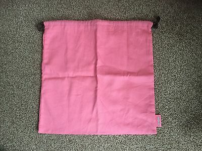 Soap and Glory Pink Draw String Toiletries Bag