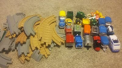 Huge Lot Geotrax  Fisher Price Trains, Tracks, and Accessories