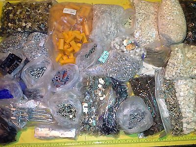 Job Lot Cabinet Fixings Screw Caps Unit Legs Kitchen Fittings Mixed Clearance
