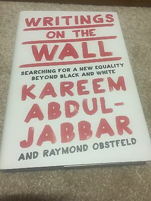 Kareem Abdul Jabbar Signed Writings On The Wall Book Autographed